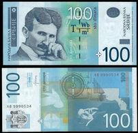 SERBIA - 100 Dinara 2013 {Narodna Banka Srbije} UNC P.57 B - Serbia