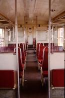 Photo Diapo Diapositive Slide Train Intérieur Wagon SNCF De 1ère Classe Banlieue Z5300 Le 29/05/1993 VOIR ZOOM - Dias