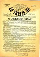 PRISONNIER DE GUERRE 40 45 JOURNAL STALAG XIIIB WEIDEN Marque Homme De Confiance Artiicles PETAIN  VOIR PHOTOS Y - 1939-45