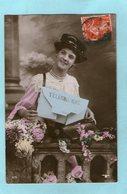 Jolie Jeune Femme - Télégramme - 1908 - - Femmes