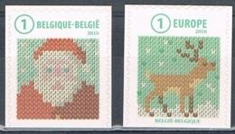 Année 2016 - COB 4663** Et 4664** (du B159 Et B160) - Timbres De Noël - Cote 5,50€ - Belgien