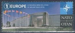 Année 2016 - COB 4652** - OTAN - Nouveau Siège à EVERE - Cote 3,20€ - Belgien
