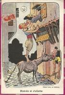 ILLUSTRATEUR :  DRACK OUB  -  SCENE COMIQUE  - ROMEO ET JULIETTE - Altre Illustrazioni
