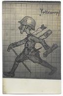 Dessin De Soldat Allemand   - WWI - Oorlog 1914-18