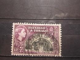 "VEND BEAU TIMBRE DE TRINITE N° 166 , OBLITERATION "" PORT OF SPAIN "" !!! - Trinidad & Tobago (...-1961)"