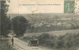 03 Allier  Meaulne Vue Prise De La Route De Magnoux    Réf 7632 - Andere Gemeenten