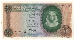 EGYPT10POUNDS1962P41UNC-Stain.CV. - Egitto