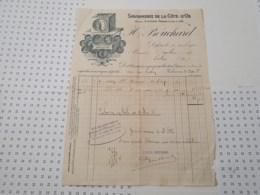 Savonnerie De La Cote D'or Bouchard à Dijon En Cote D'or (dpt 21) - 1900 – 1949