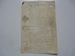 VIEUX PAPIERS - MANUSCRIT : Réquisition - Manuskripte
