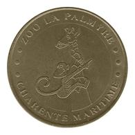 Monnaie De Paris , 2011 , Les Mathes , La Palmyre , La Girafe Et La Mascotte - Monnaie De Paris