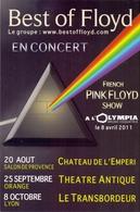 PK - Concert Best Of Floyd - French Pink Floyd Show - 2011 - Evénements