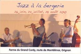 PK - Concert - Jazz à La Bergerie - Ferme Du Grand Cordy - Grignan - Evénements