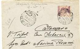 1923 SANT'EUFEMIA ( A MAIELLA) BIFORCAZIONE DC FRAZIONARIO 18-145 PREGIATO - 1900-44 Victor Emmanuel III