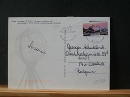 85/758  CP NORGE  POUR LA BELG. NORDKAPP - Norwegen