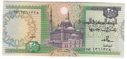 EGYPT20POUNDS1992P52UNCHassan Sign..CV. - Egitto