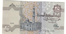 EGYPT25PIASTRES1979P49UNCReplacement.CV. - Egipto
