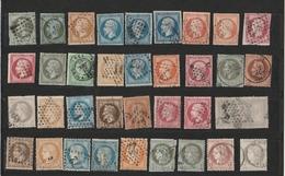 Lotto Di Francobolli Usati Di Francia 1853/1900 - Come Da Foto. - Frankrijk