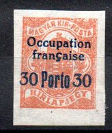 HONGRIE ARAD - YT Taxe N° 3 - Signé - Neuf ** - MNH - Cote: 3,90 € - Unused Stamps