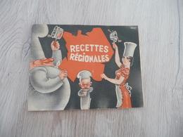 Plaquette Recettes Régionales Illustrée Par Francis Prompt 28 Pages - Autres Collections