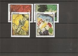 Peintures - Chagall ( 1381/1384 XXX -MNH- De Grenade) - Arts