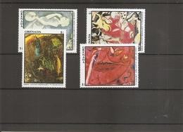Peintures - Chagall ( 1393/1396 XXX -MNH- De Grenade) - Arts