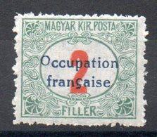 HONGRIE ARAD - YT Taxe N° 6 - Signé - Neuf ** - MNH - Cote: 3,30 € - Hongrie (1919)
