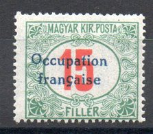 HONGRIE ARAD - YT Taxe N° 9 - Signé - Neuf ** - MNH - Cote: 7,80 € - Unused Stamps