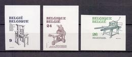 2309/2311 Boekdrukkunst ONGETAND POSTFRIS**  1988 - Belgium