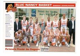 SLUC Nancy Basket - Saison 2005/2006 - Basketball