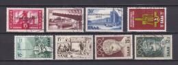 Saarland - 1955/56 - Michel Nr. 362/64+368/72 - Gest. - 1947-56 Allierte Besetzung