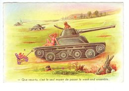 Tanks En Manoeuvres - Umoristiche