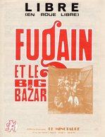 PARTITION LIBRE DE PIERRE DELANOE / MICHEL FUGAIN PAR MICHEL FUGAIN ET LE BIG BAZAR - 1974 - EXC ETAT PROCHE DU NEUF - - Musique & Instruments