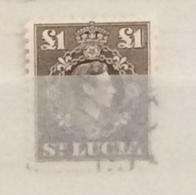 St. Lucia 1938 Sg139  £1  Used - St.Lucia (...-1978)