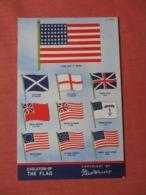 Fred Harvey  Evolution Of The Flag  >ref  3876 - Heimat