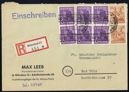 1948, Bizone, 37 I (6) U.a., Brief - Bizone