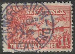 New Guinea. 1925-27 Native Village. 1½d Used. SG 126a - Papua New Guinea