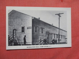 Recreation Hall Camp Upton  Long Island  New York >>ref  3876 - Long Island