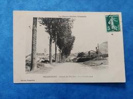 Polaincourt Avenue Des Peupliers Cote Clairefontaine Saône Franche Comté - Altri Comuni