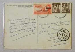 Cartolina Illustrata Per Roma - Anno 1953 - Posta Aerea