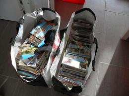 LOT DE 3500,CPM,CARTES MODERNES ET SEMI MODERNES,FORMAT 15-10,THEME,PAYSAGE,ARCHITECTURE,A TRIER POUR BROCANTE,NET - 500 Postcards Min.