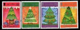 Isle Of Man 2006 Yvert 1354-1357, Christmas. Christmas Trees With Triskelion - MNH - 1952-.... (Elizabeth II)