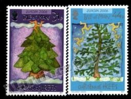 Isle Of Man 2006 Yvert 1358-1359, Christmas. Christmas Trees With Triskelion - MNH - 1952-.... (Elizabeth II)