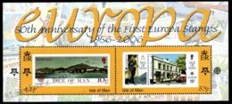 Isle Of Man 2006 Yvert BF 63, Europa. 50th Anniv Europa Stamps - Miniature Sheet - MNH - 1952-.... (Elizabeth II)