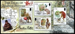 Isle Of Man 2006 Yvert BF 64, Literature. Children. Tales Of Beatrix Potter Characters - Miniature Sheet - MNH - 1952-.... (Elizabeth II)