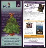 Isle Of Man 2006 Yvert C1361, Christmas. Christmas Tree With Triskelion (Purple) - Booklet - MNH - 1952-.... (Elizabeth II)