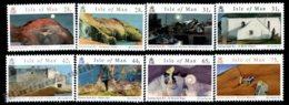 Isle Of Man 2007 Yvert 1386-1393, Art. Norman Sayle Watercolours - MNH - 1952-.... (Elizabeth II)