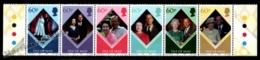 Isle Of Man 2007 Yvert 1380-1385, Royals. Queen Elizabeth & Philip Of Edimburgh 60th Wedding Anniv. Strip - MNH - 1952-.... (Elizabeth II)