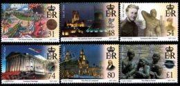 Isle Of Man 2007 Yvert 1398-1403, History. 800th Anniv Liverpool Foundation, Royal Charter - MNH - 1952-.... (Elizabeth II)