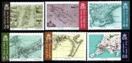 Isle Of Man 2007 Yvert 1414-1419, Geography. Isle Of Man Historical Maps - MNH - 1952-.... (Elizabeth II)