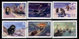 Isle Of Man 2007 Yvert 1420-1425, History. John Ross North Pole Expedition, International Polar Year - MNH - 1952-.... (Elizabeth II)